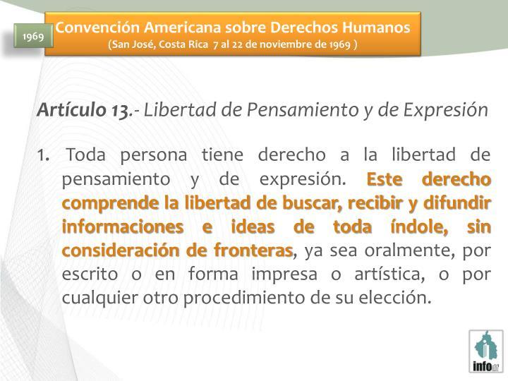 Convención Americana sobre Derechos Humanos