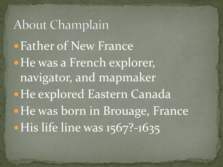 About champlain