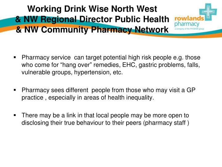 Working Drink Wise North West