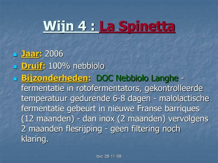 Wijn 4 :