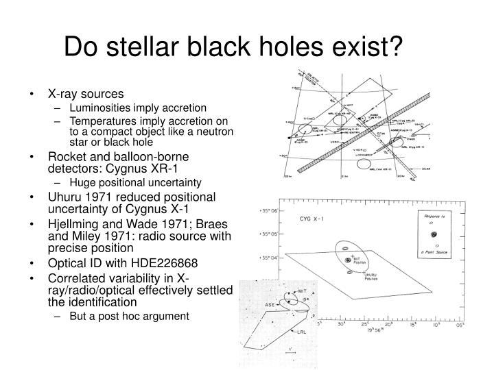 Do stellar black holes exist?
