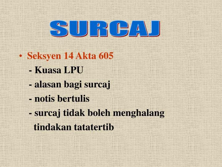 SURCAJ