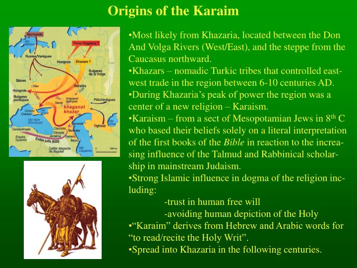 Origins of the Karaim