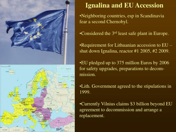 Ignalina and EU Accession