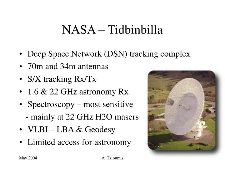NASA – Tidbinbilla