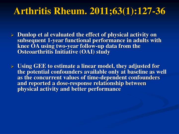Arthritis Rheum. 2011;63(1):127-36