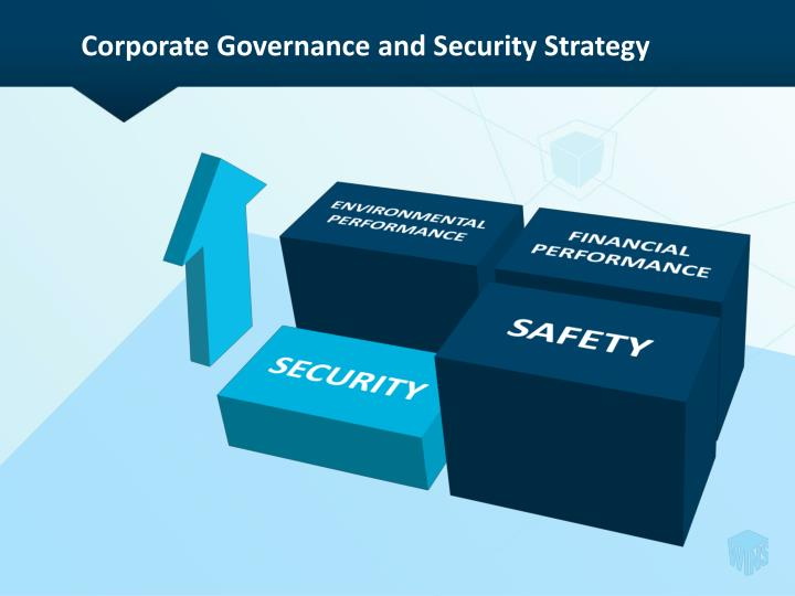 Corporate governance and security strategy
