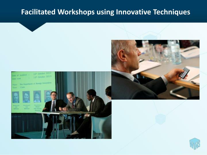 Facilitated Workshops using Innovative Techniques