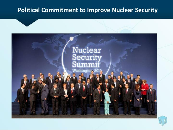 Political Commitment to Improve Nuclear Security