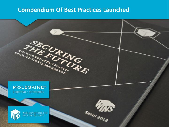 Compendium Of Best Practices Launched