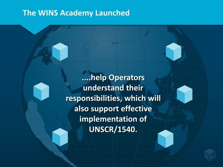 The WINS Academy Launched