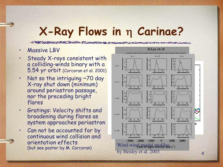 X-Ray Flows in