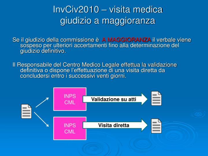 InvCiv2010 – visita medica