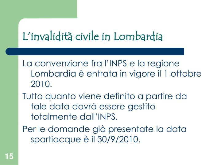 L'invalidità civile in Lombardia