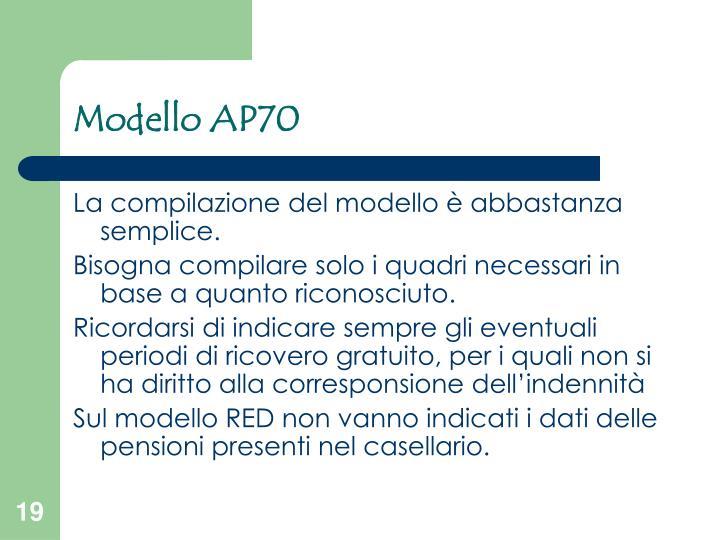 Modello AP70
