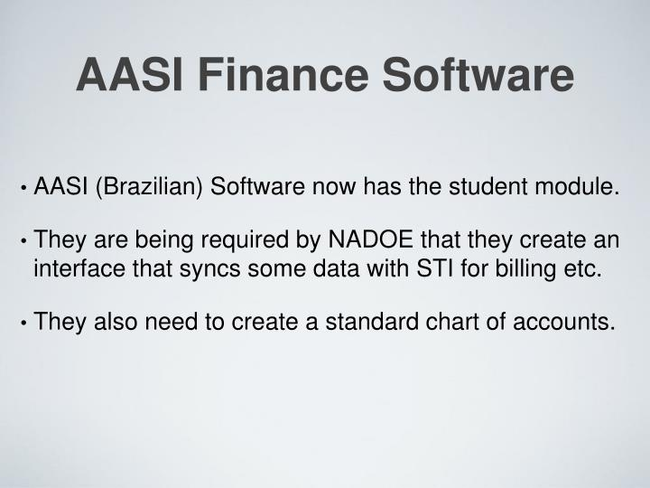 AASI Finance Software