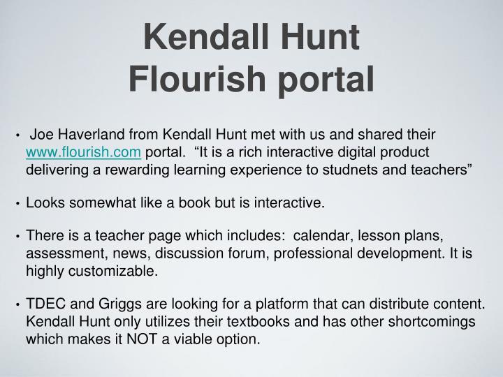 Kendall Hunt