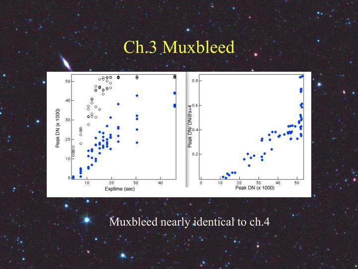Ch.3 Muxbleed
