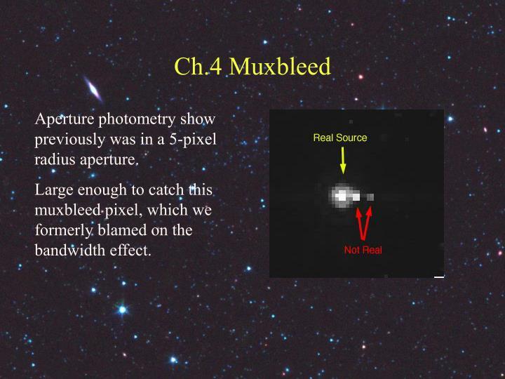Ch.4 Muxbleed