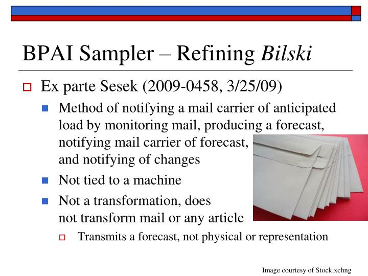 BPAI Sampler – Refining