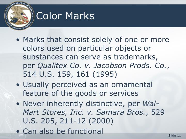 Color Marks