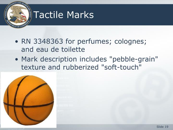 Tactile Marks