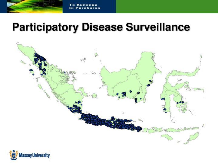 Participatory Disease Surveillance