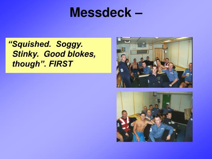 Messdeck –