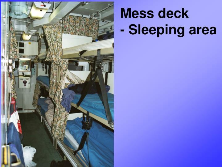 Mess deck