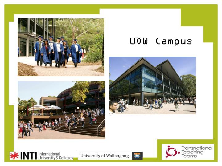 UOW Campus
