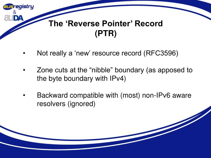 The 'Reverse Pointer' Record