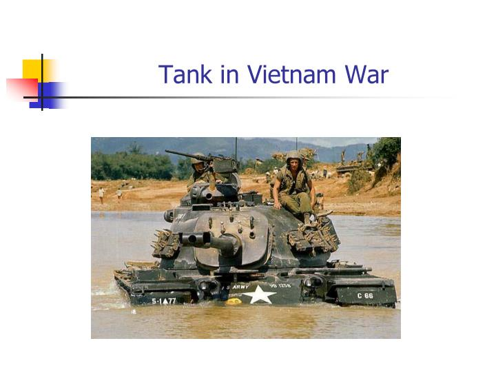 Tank in Vietnam War