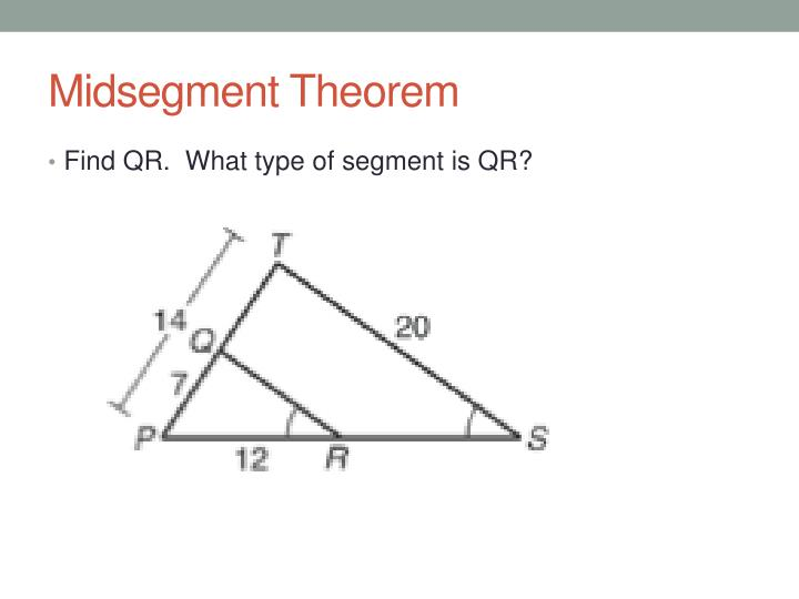 Midsegment Theorem
