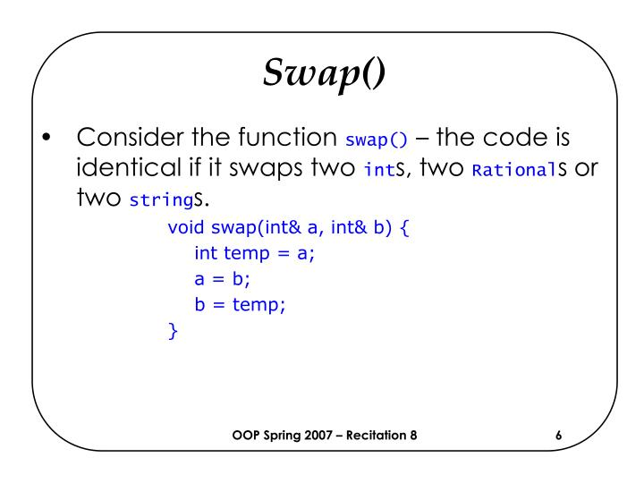 Swap()