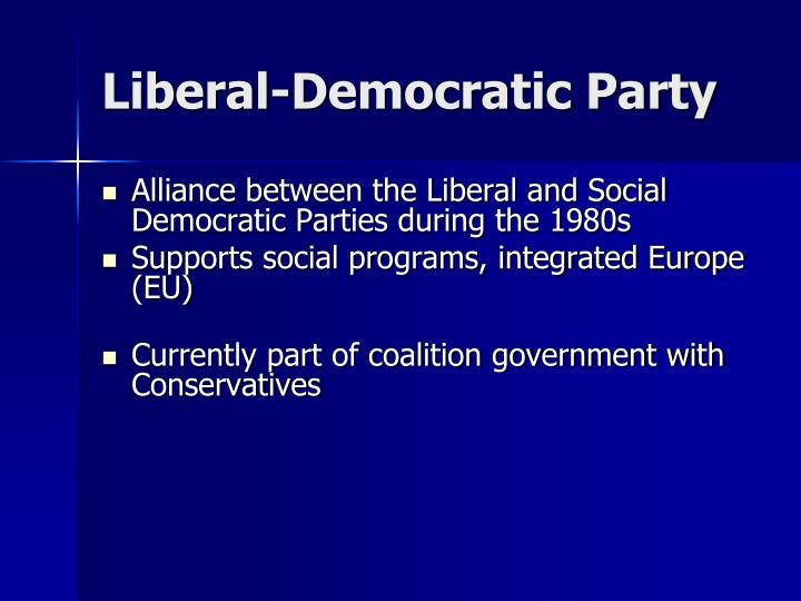 Liberal-Democratic Party