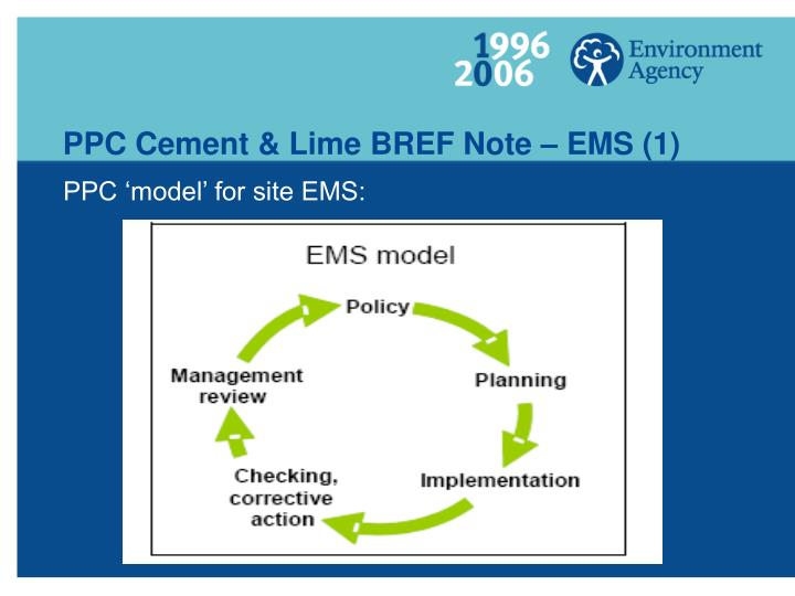 Ppc cement lime bref note ems 1
