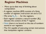 register machines1