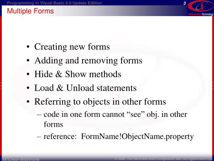 Multiple forms1
