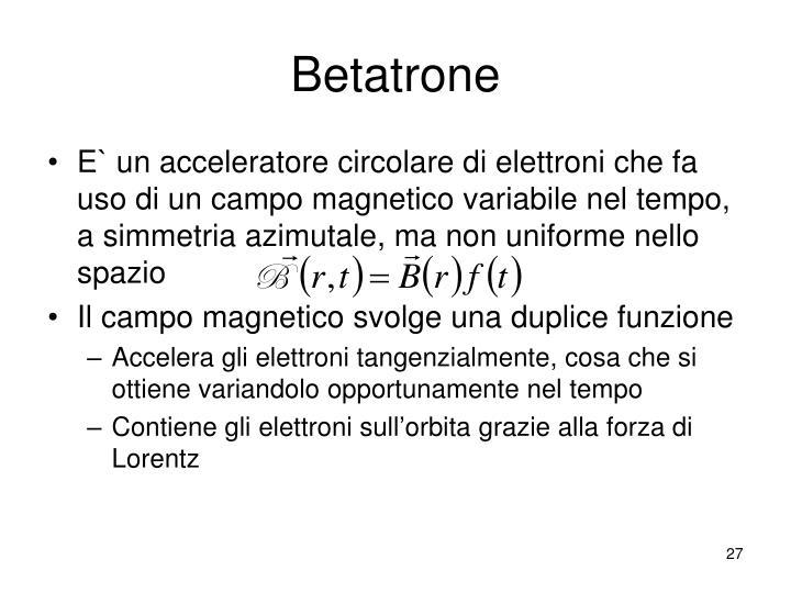 Betatrone