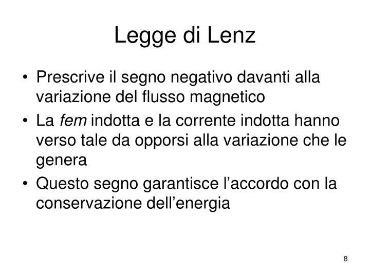 Legge di Lenz