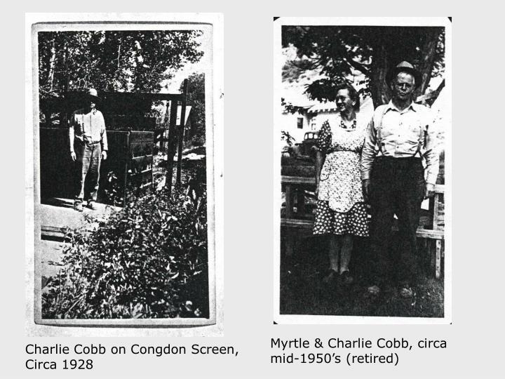Myrtle & Charlie Cobb, circa