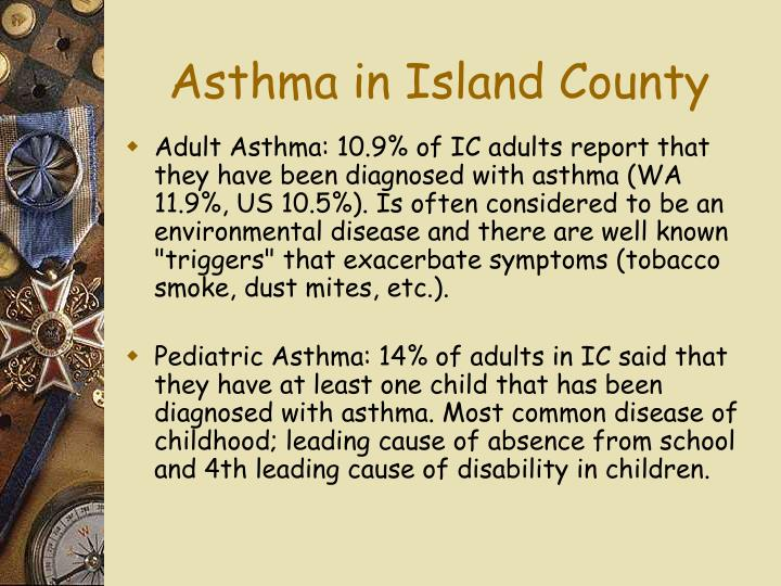 Asthma in Island County