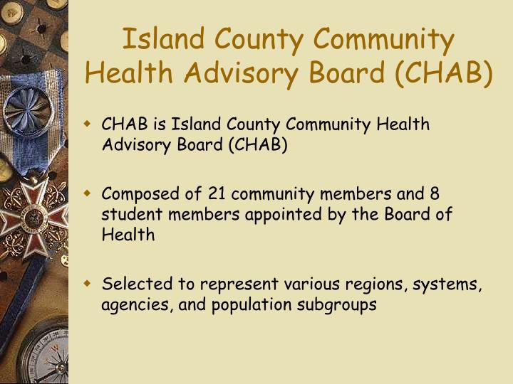 Island County Community Health Advisory Board (CHAB)