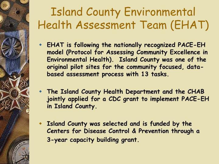 Island County Environmental Health Assessment Team (EHAT)