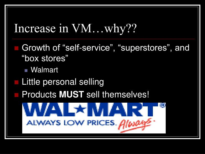 Increase in VM…why??