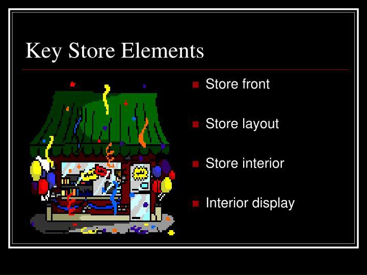Key Store Elements