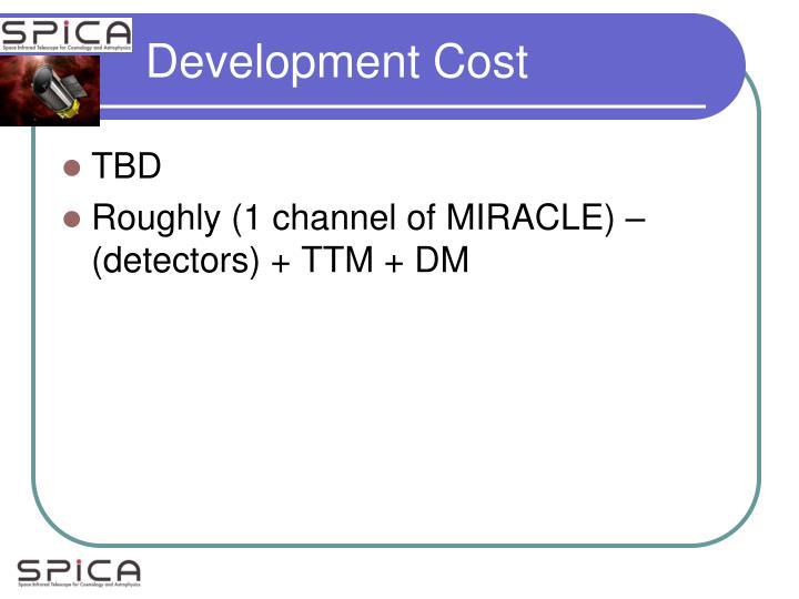 Development Cost