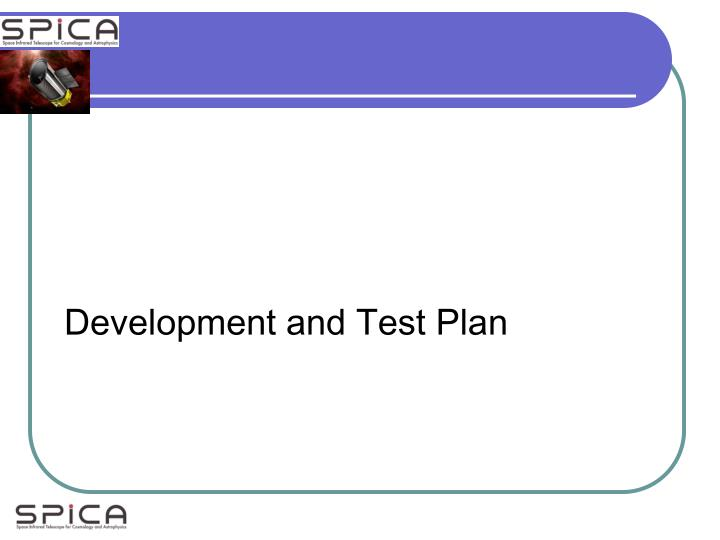 Development and Test Plan