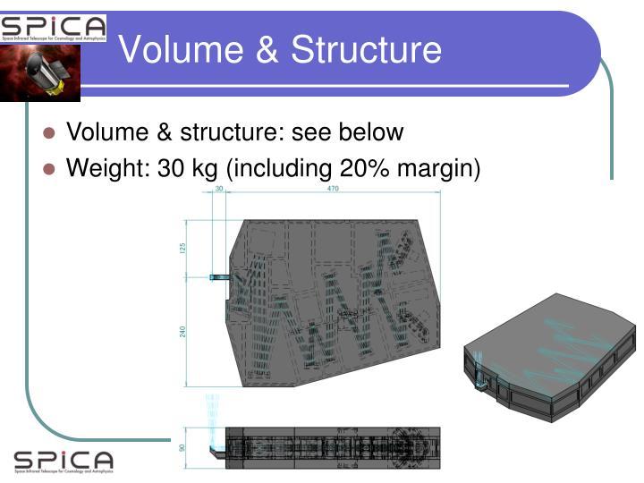 Volume & Structure