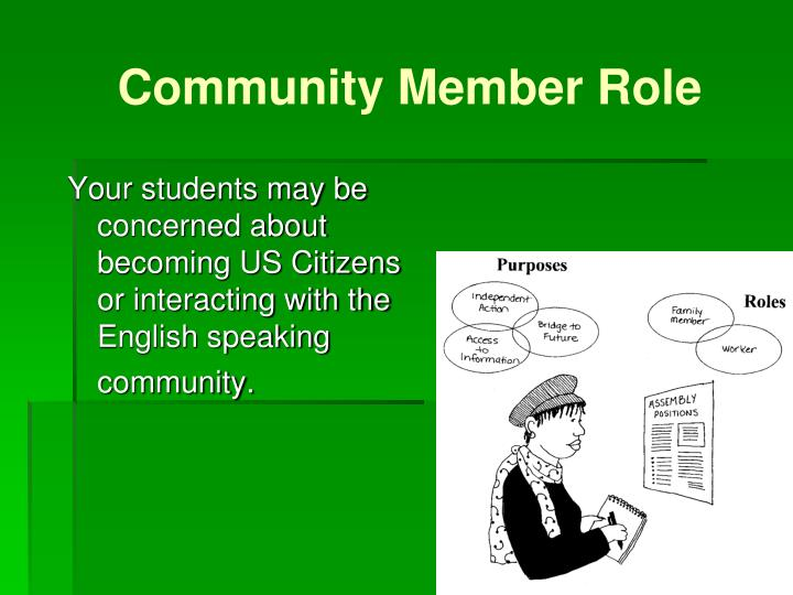 Community Member Role